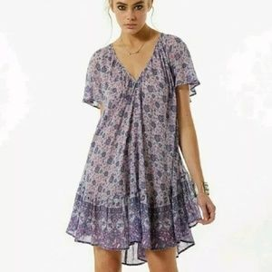 Spell Kombi Flutter Dress in Lavender, small
